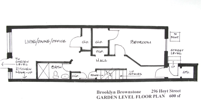 StreetEasy: 296 Hoyt St.  - Townhouse Sale in Carroll Gardens, Brooklyn