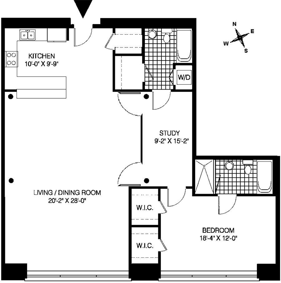 One Bed Wonder | Manhattan Loft Guy