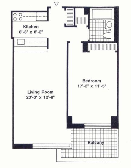 StreetEasy: 99 Battery Pl. #18E - Condo Apartment Rental at Liberty View in Battery Park City, Manhattan