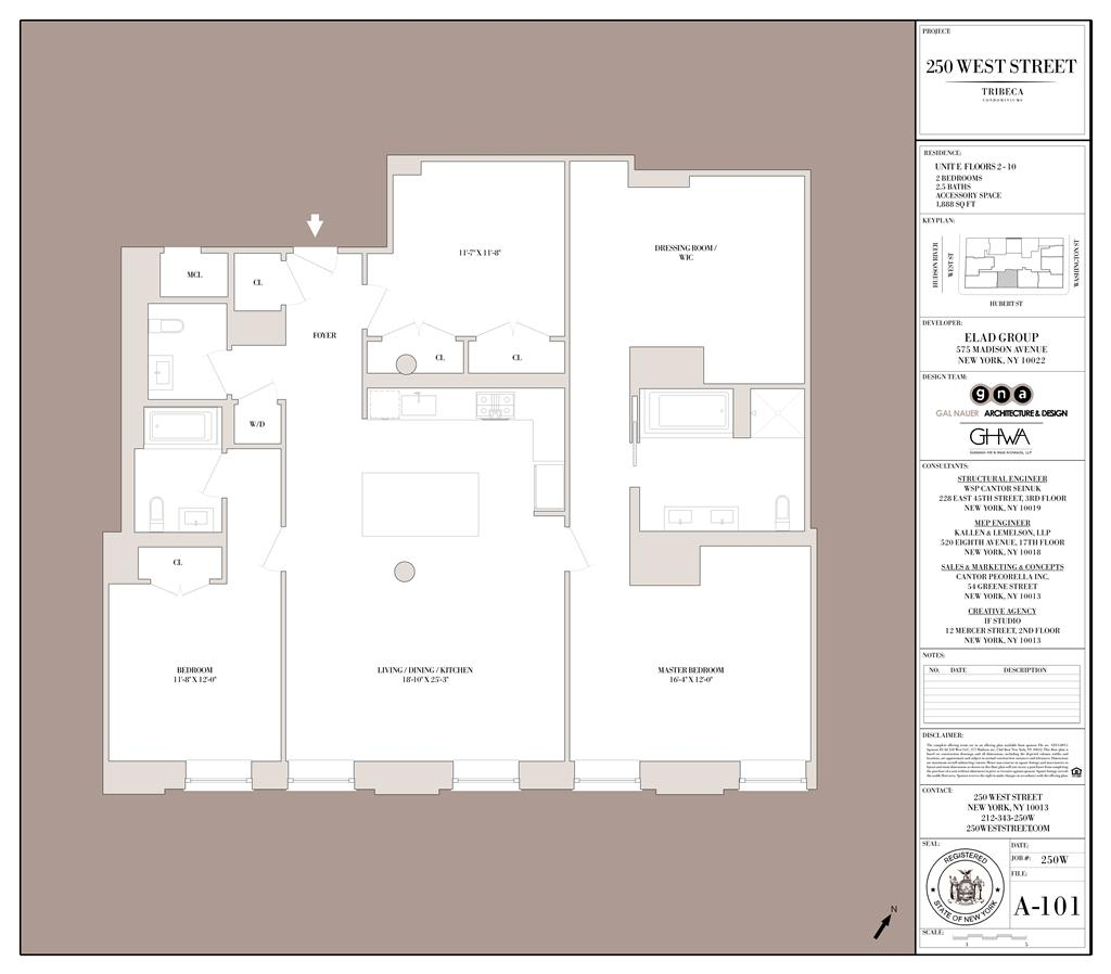 StreetEasy: 250 West St. #6E - Condo Apartment Sale in Tribeca, Manhattan
