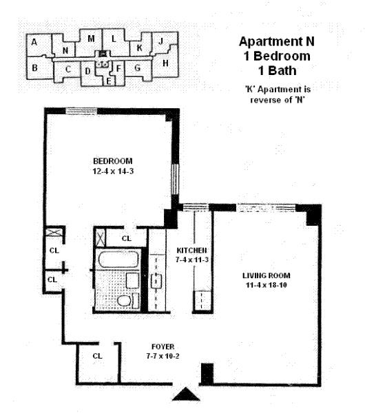 StreetEasy: 175 Willoughby St. #11N - Co-op Apartment Rental at University Towers Apartments in Downtown Brooklyn, Brooklyn