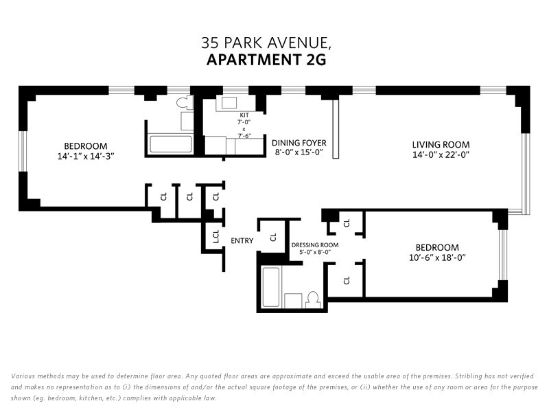 StreetEasy: 35 Park Ave. #2G - Co-op Apartment Sale in Murray Hill, Manhattan