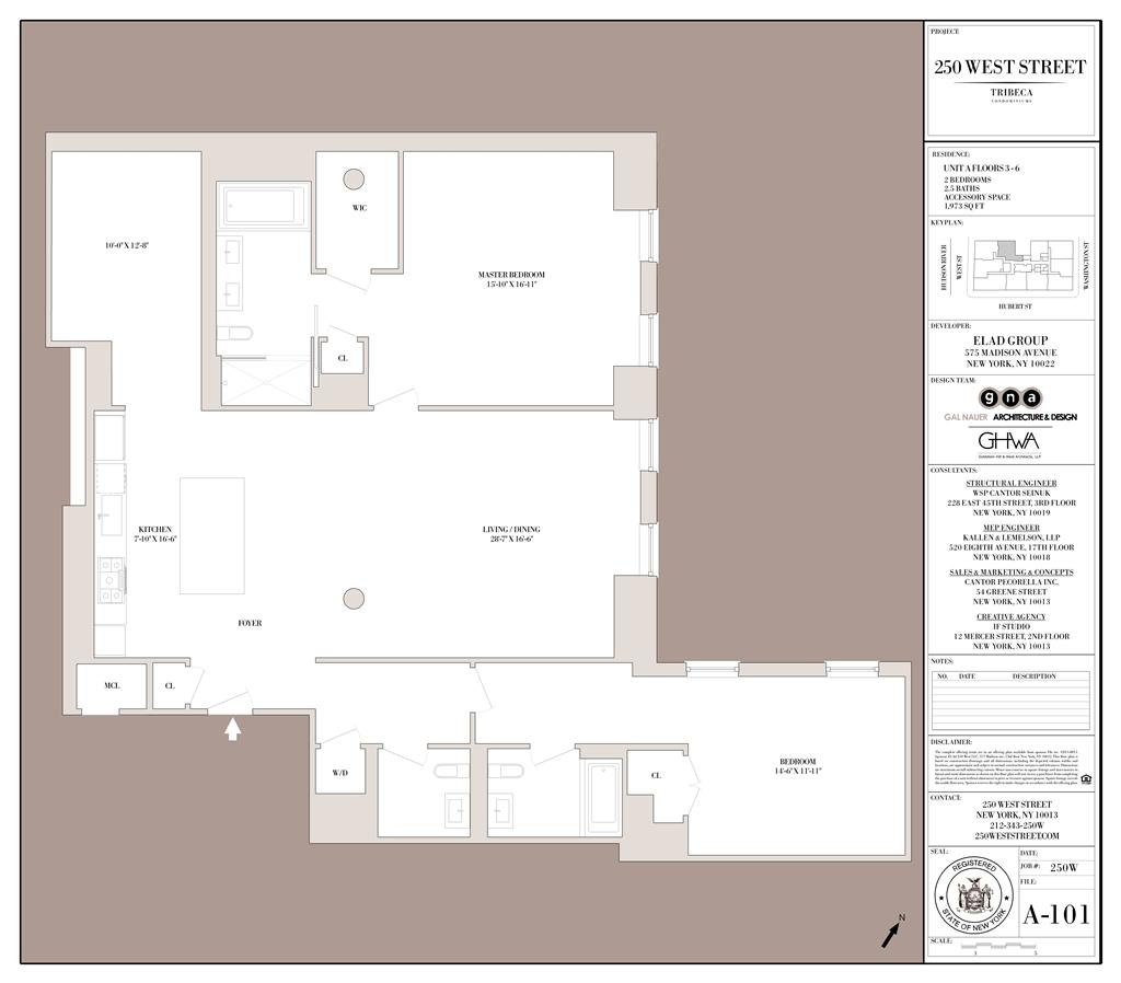 StreetEasy: 250 West St. #5A - Condo Apartment Sale in Tribeca, Manhattan