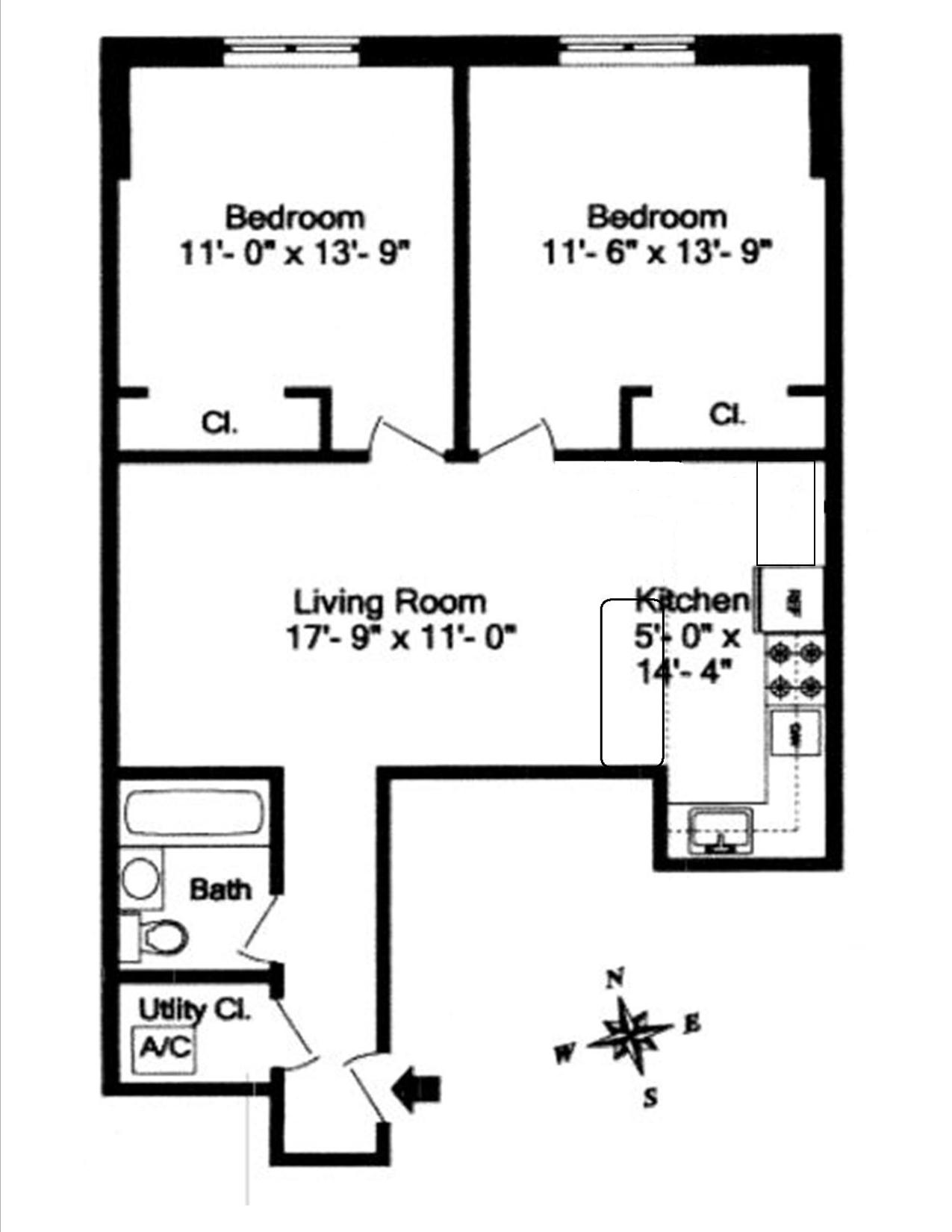 BEAUTIFUL 2BR CONDOMINIUM - GREAT LAYOUT - KING SIZED BEDROOMS