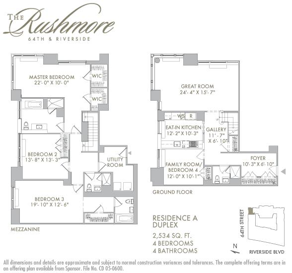 StreetEasy: 80 Riverside Blvd. #1A - Condo Apartment Sale at The Rushmore in Lincoln Square, Manhattan