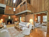 Reclaimed Antique Barns Become a Home,
