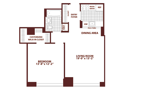 StreetEasy: 325 N. End Ave. - Rental Apartment Rental at Tribeca Green in Battery Park City, Manhattan