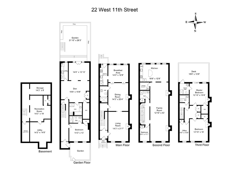 StreetEasy: 22 West 11th St.  - Townhouse Sale in Greenwich Village, Manhattan