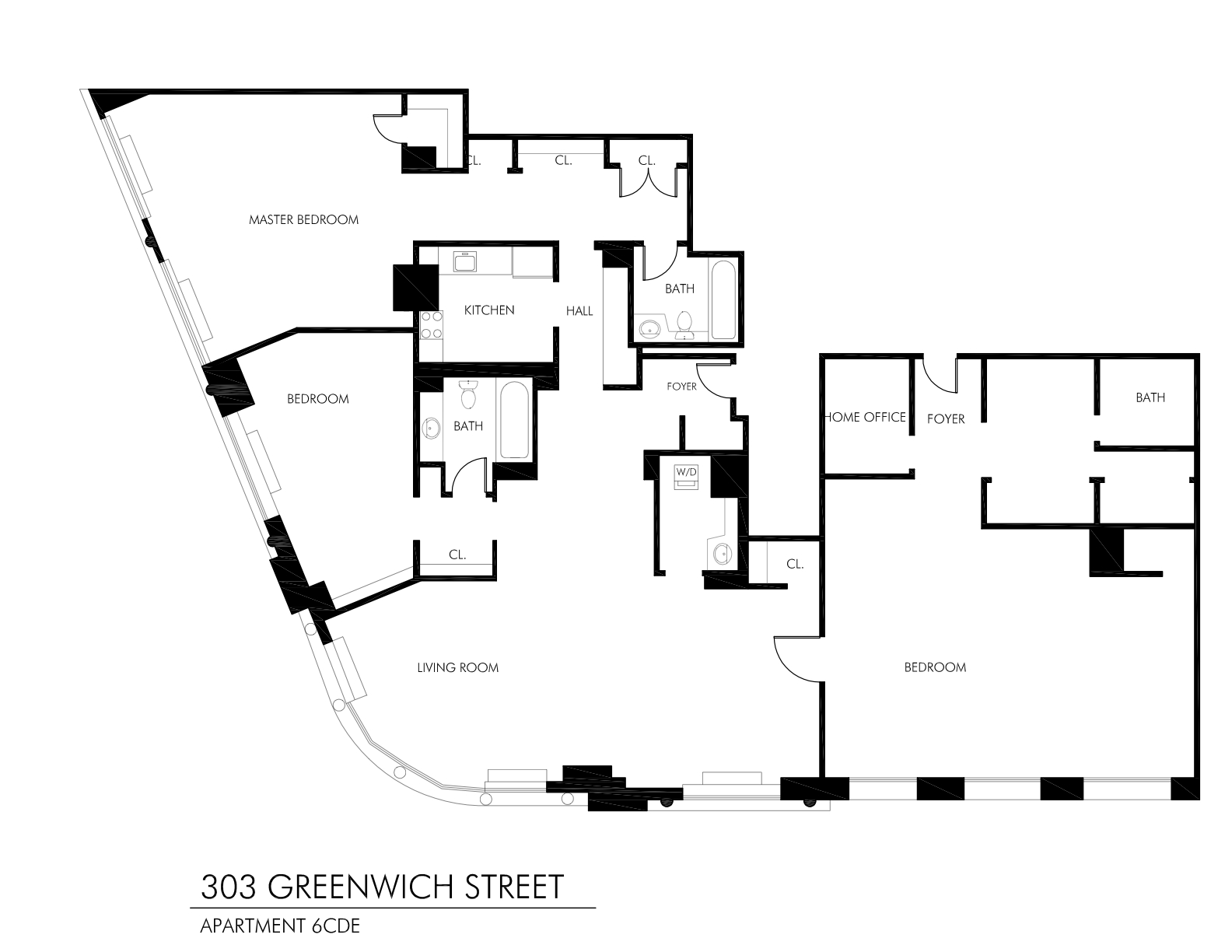 StreetEasy: 303 Greenwich St. #6D - Condo Apartment Rental at The Tribeca in Tribeca, Manhattan