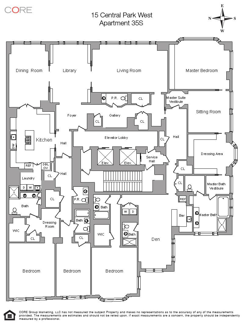 15 central park west tumblr for Apartment floor plans tumblr