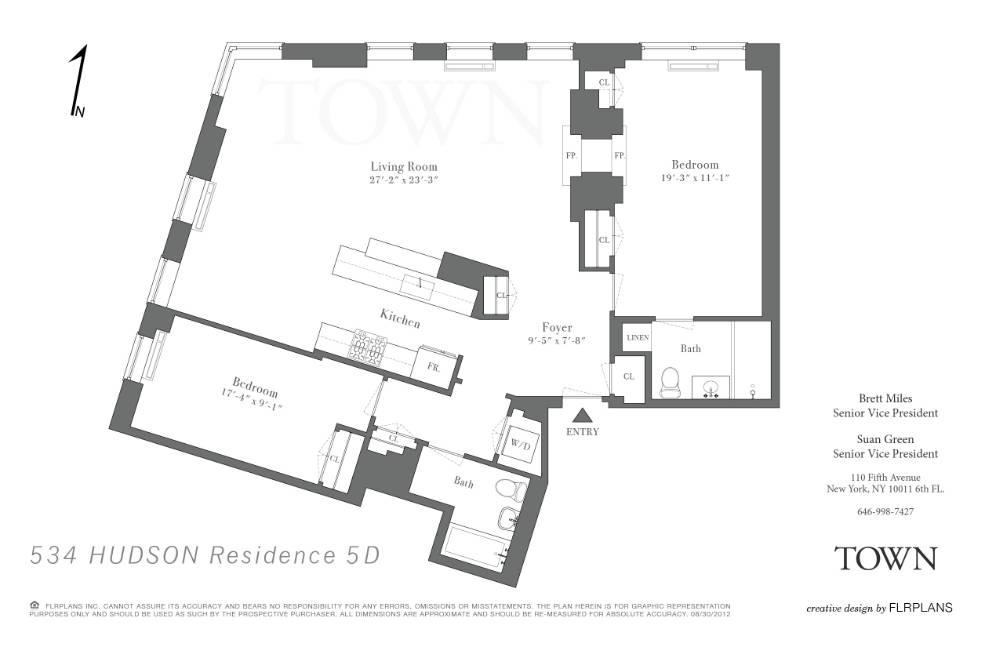 StreetEasy: 534 Hudson St. #5D - Condo Apartment Sale in West Village, Manhattan