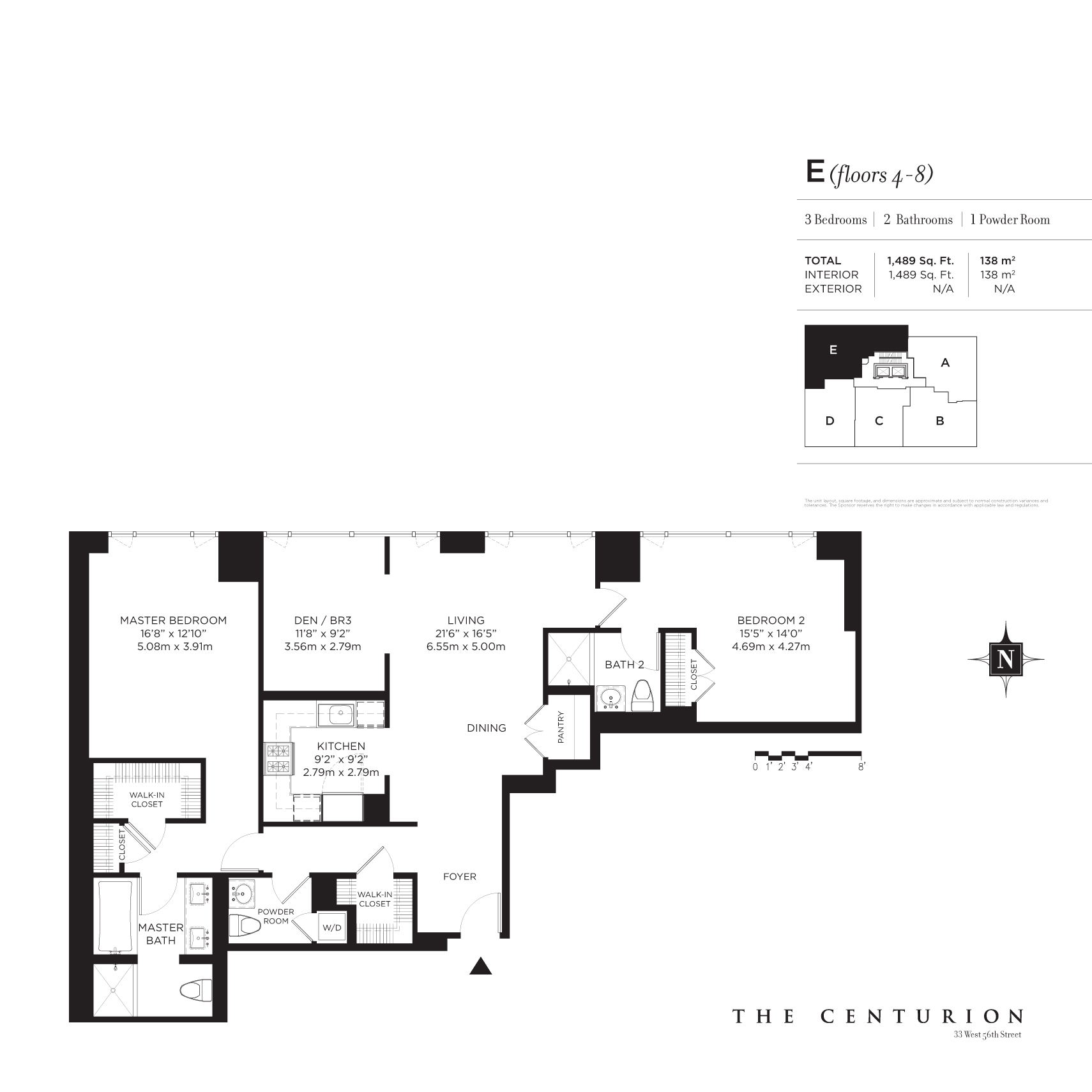 StreetEasy: 33 West 56th St. #7E - Condo Apartment Sale at The Centurion in Midtown, Manhattan