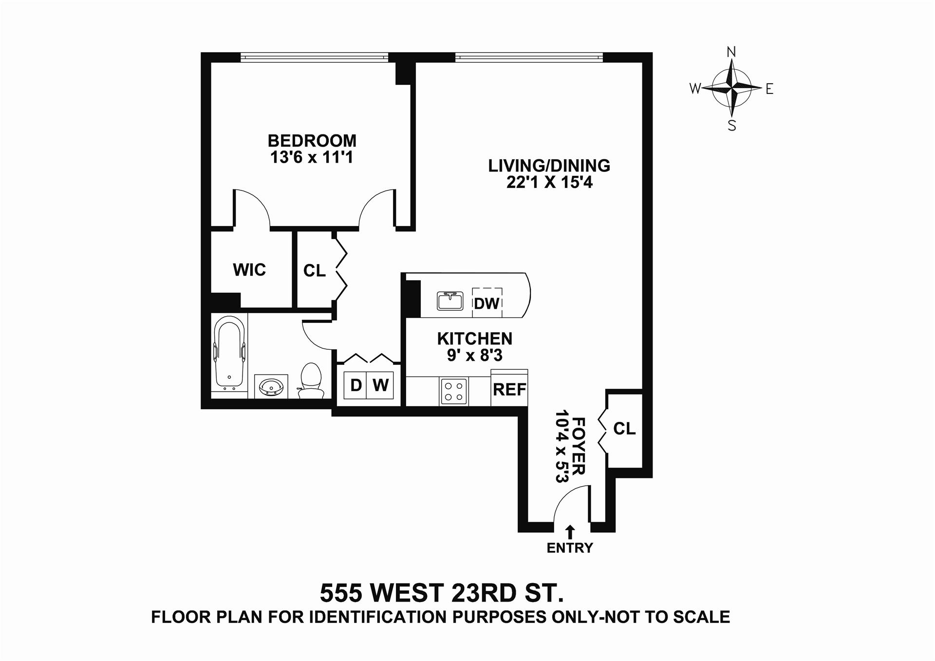 StreetEasy: 555 West 23rd St. #S11R - Condo Apartment Sale in West Chelsea, Manhattan