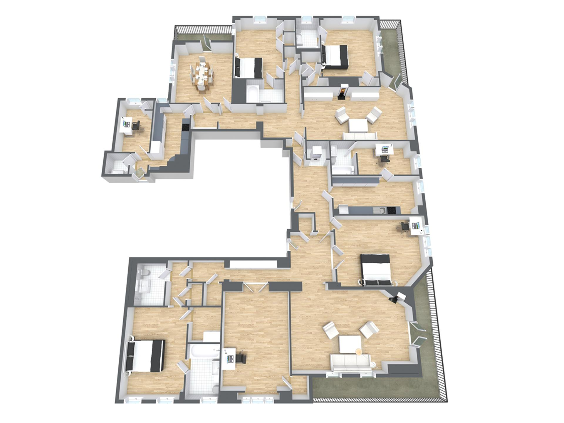 Trump Tower penthouse | Luxurious Apartments | Pinterest ...
