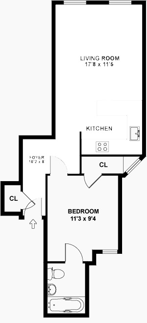StreetEasy: 649 Second Ave. #6B - Co-op Apartment Rental in Murray Hill, Manhattan