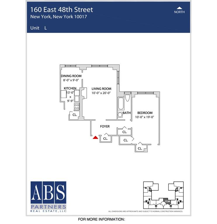 StreetEasy: 155 East 47th St. #15L - Rental Apartment Rental at The Buchanan in Turtle Bay, Manhattan
