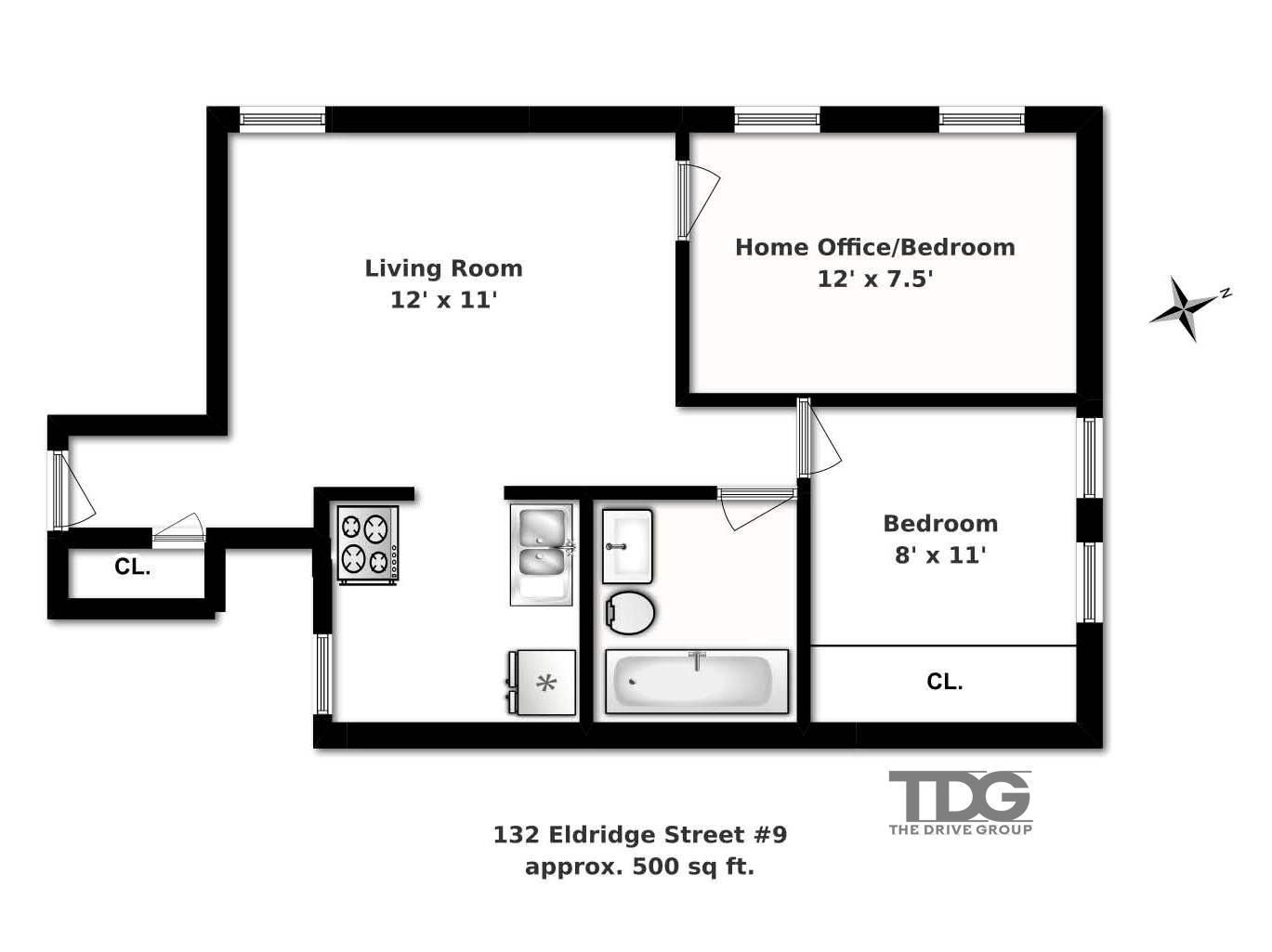 2 Bedroom Loft For Sale-Bank Approved Building