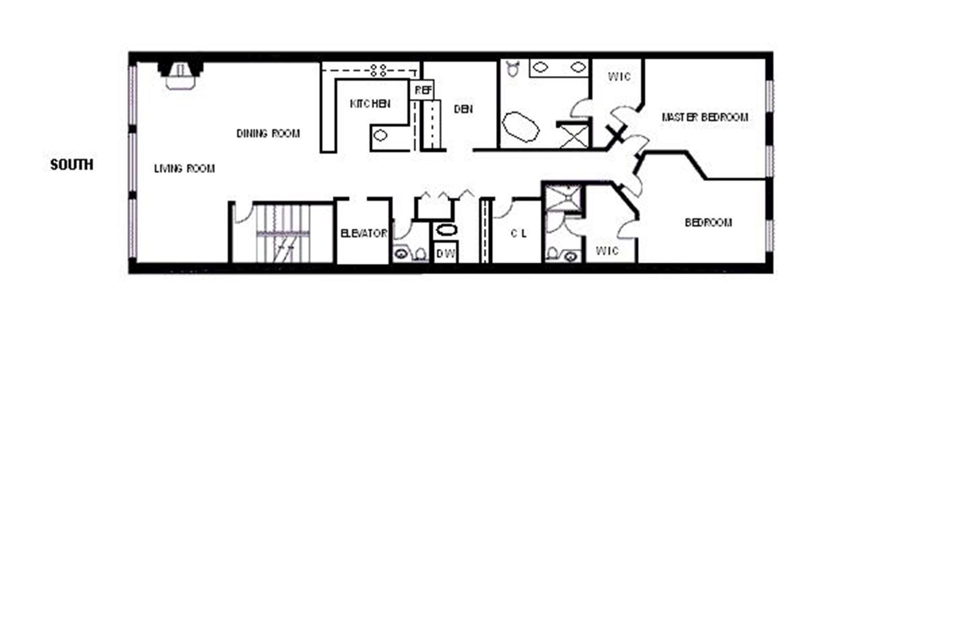 20 best photo of long narrow floor plans ideas home for Long house floor plans