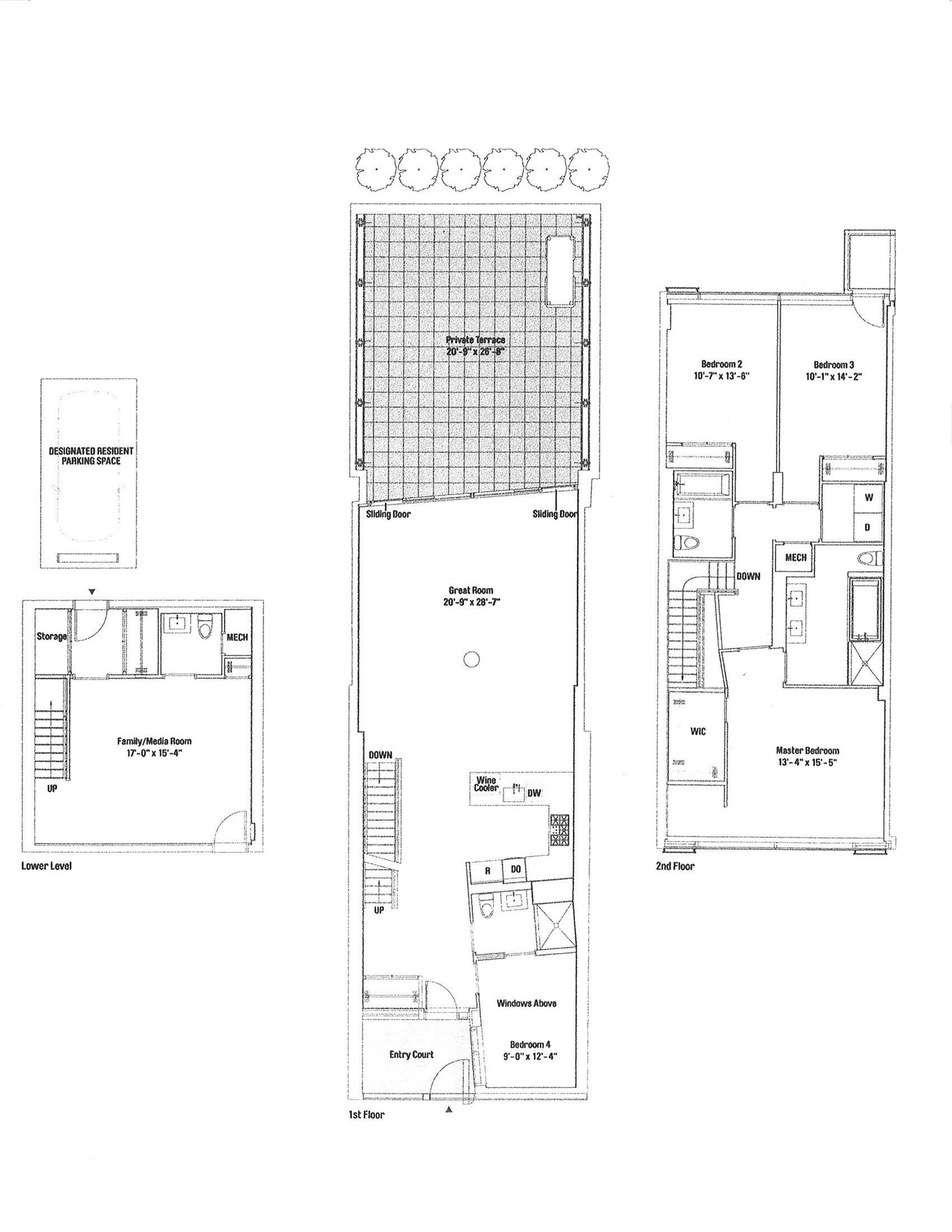 StreetEasy: 425 West 53rd St. #TH409 - Condo Apartment Rental at The Dillon in Midtown West, Manhattan