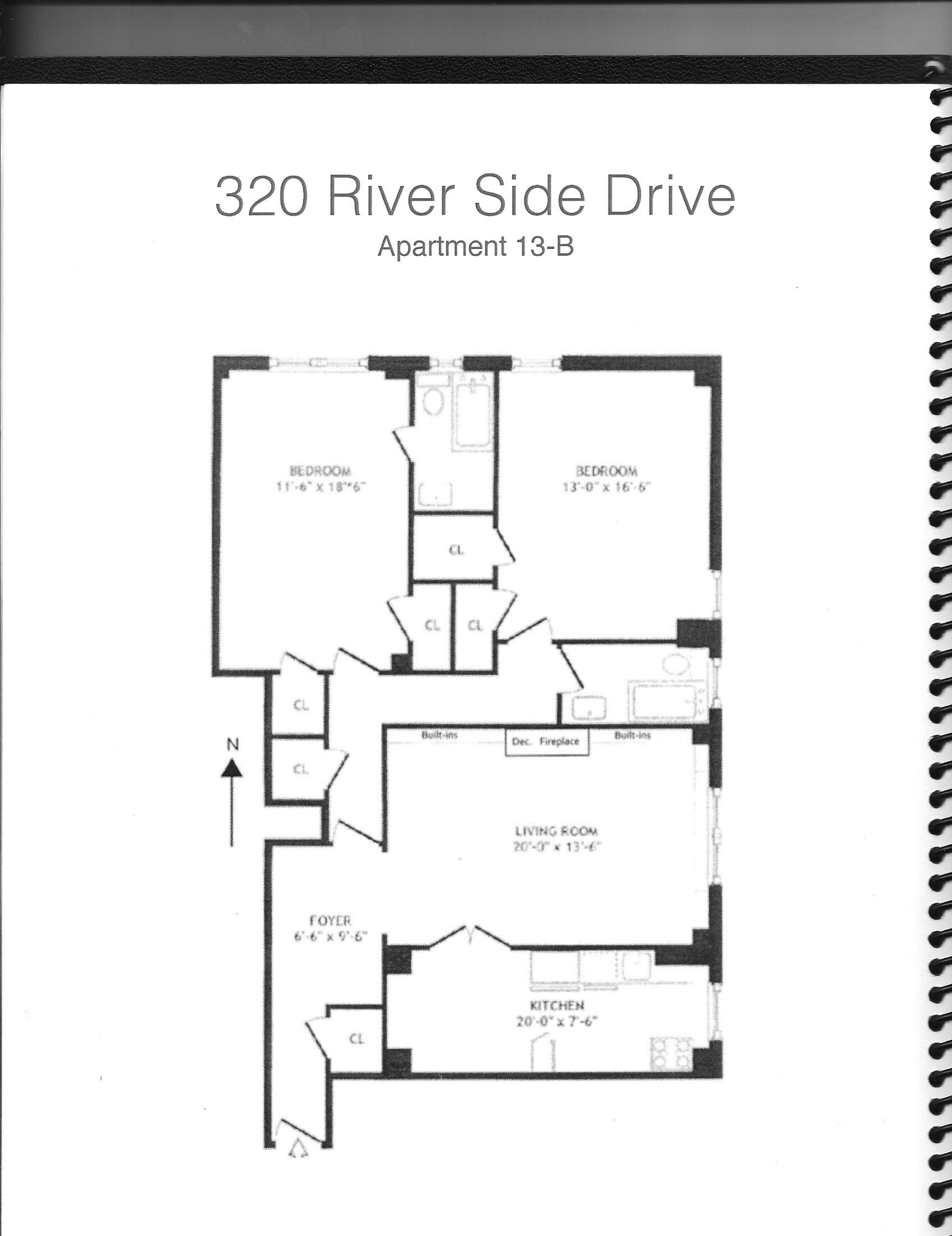 StreetEasy: 320 Riverside Drive #13B - Co-op Apartment Sale in Upper West Side, Manhattan