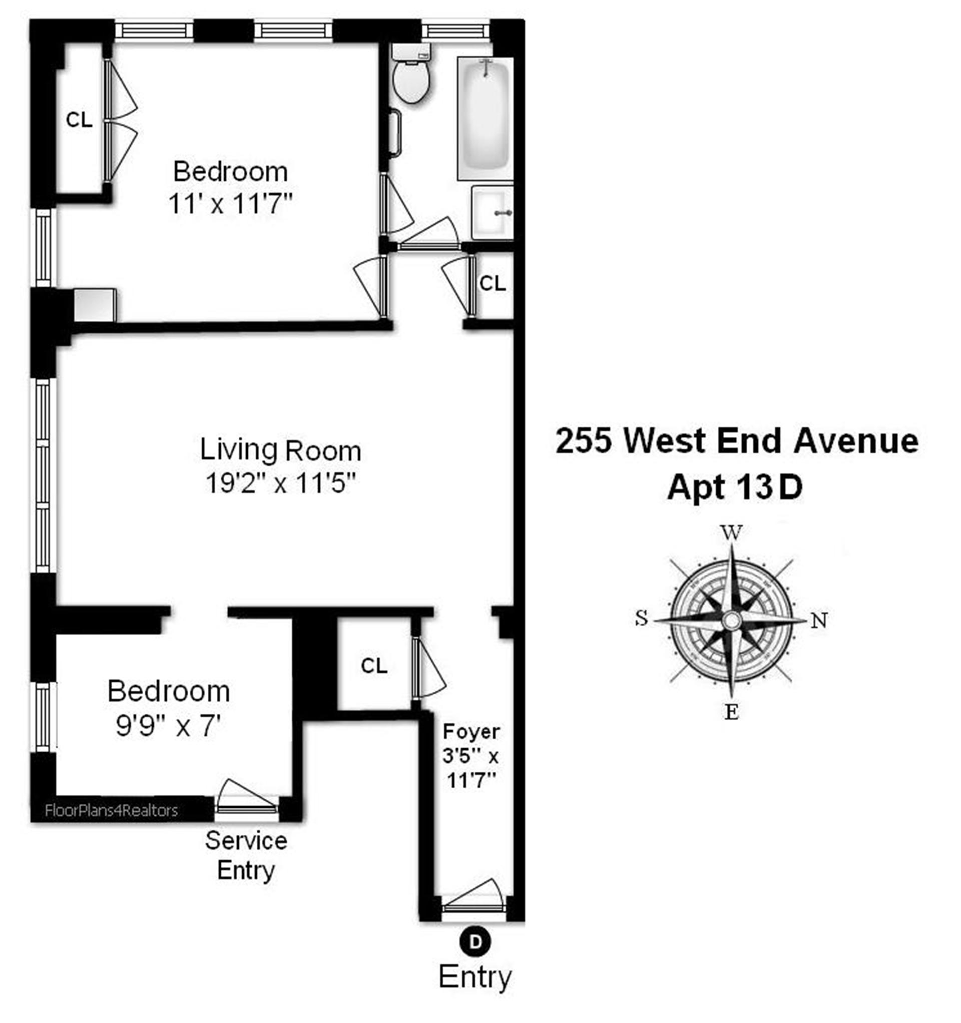 StreetEasy: 255 West End Ave. #13CD - Co-op Apartment Sale in Lincoln Square, Manhattan