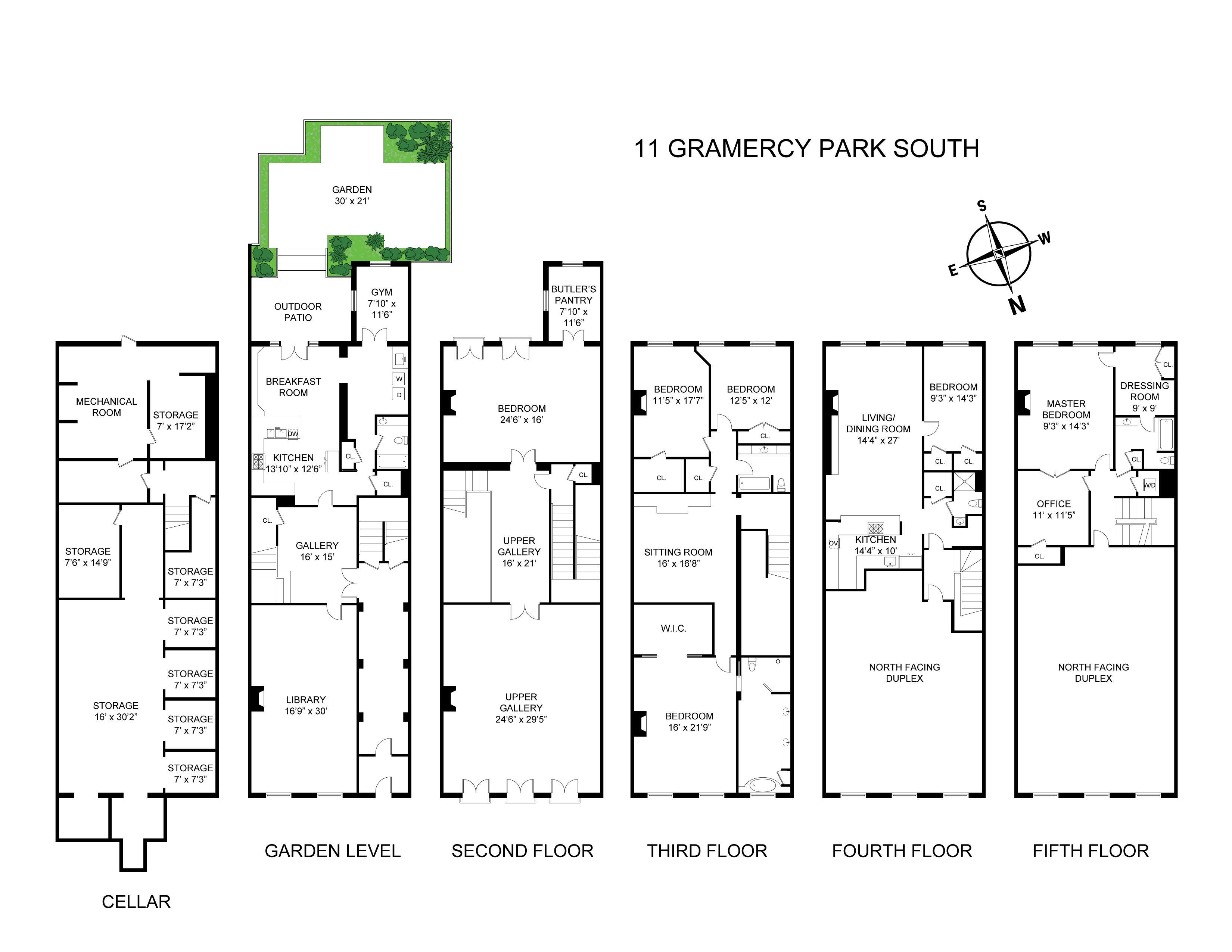 11 gramercy park in gramercy park manhattan streeteasy for Gramercy park apartments for sale