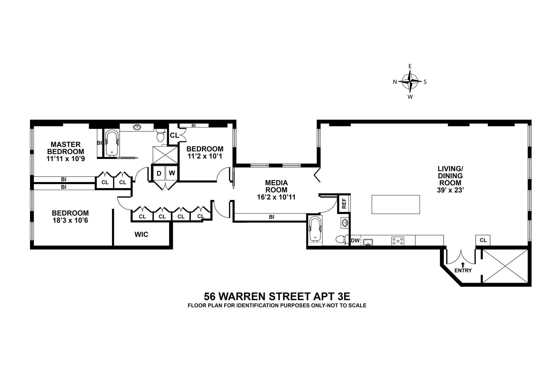 56 Warren Street in Tribeca