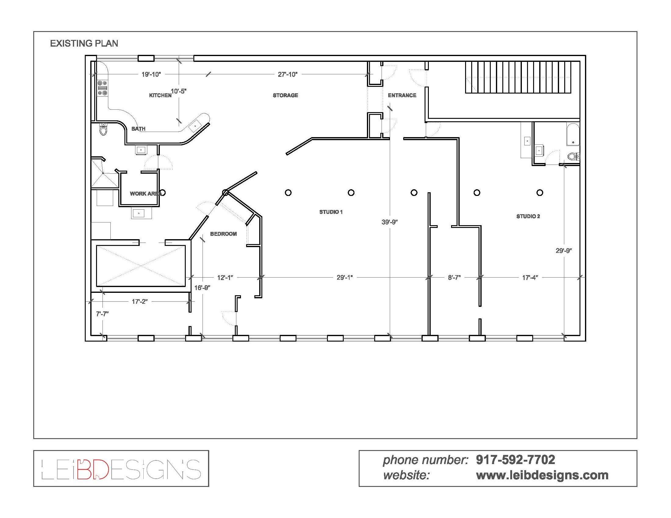 Artist studio layout joy studio design gallery best design for Best studio layouts