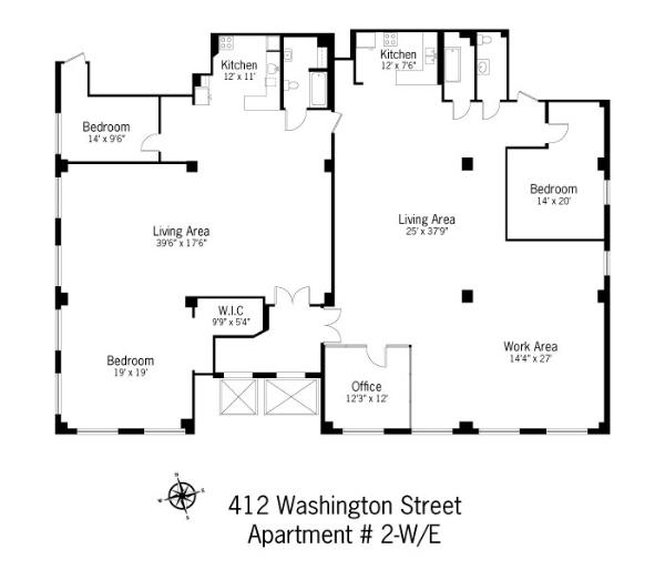 StreetEasy: 427 Washington #2EW - Co-op Apartment Sale in Tribeca, Manhattan