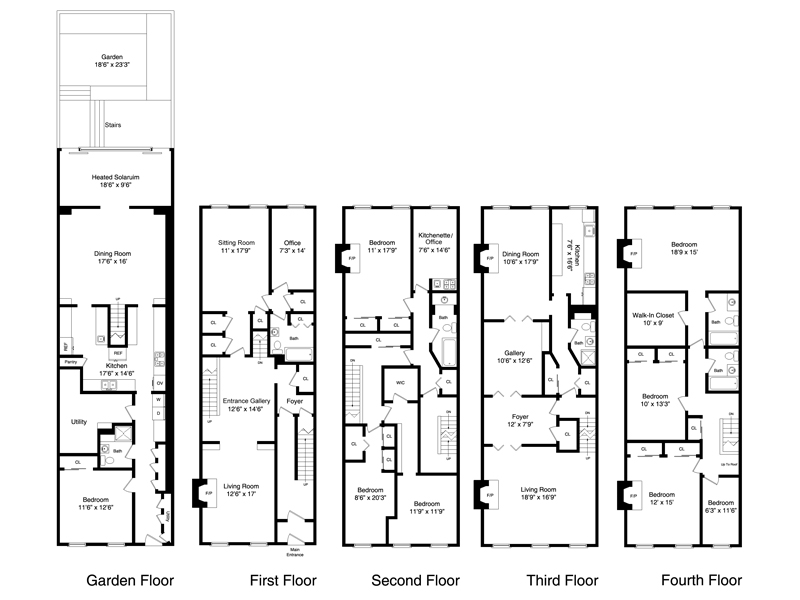 Awesome 24 images brownstone house plans home plans for Brownstone townhouse plans