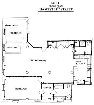 StreetEasy: 116 West 14th St. #7N - Condo Apartment Sale in Greenwich Village, Manhattan