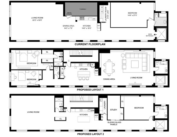 House plans with elevators