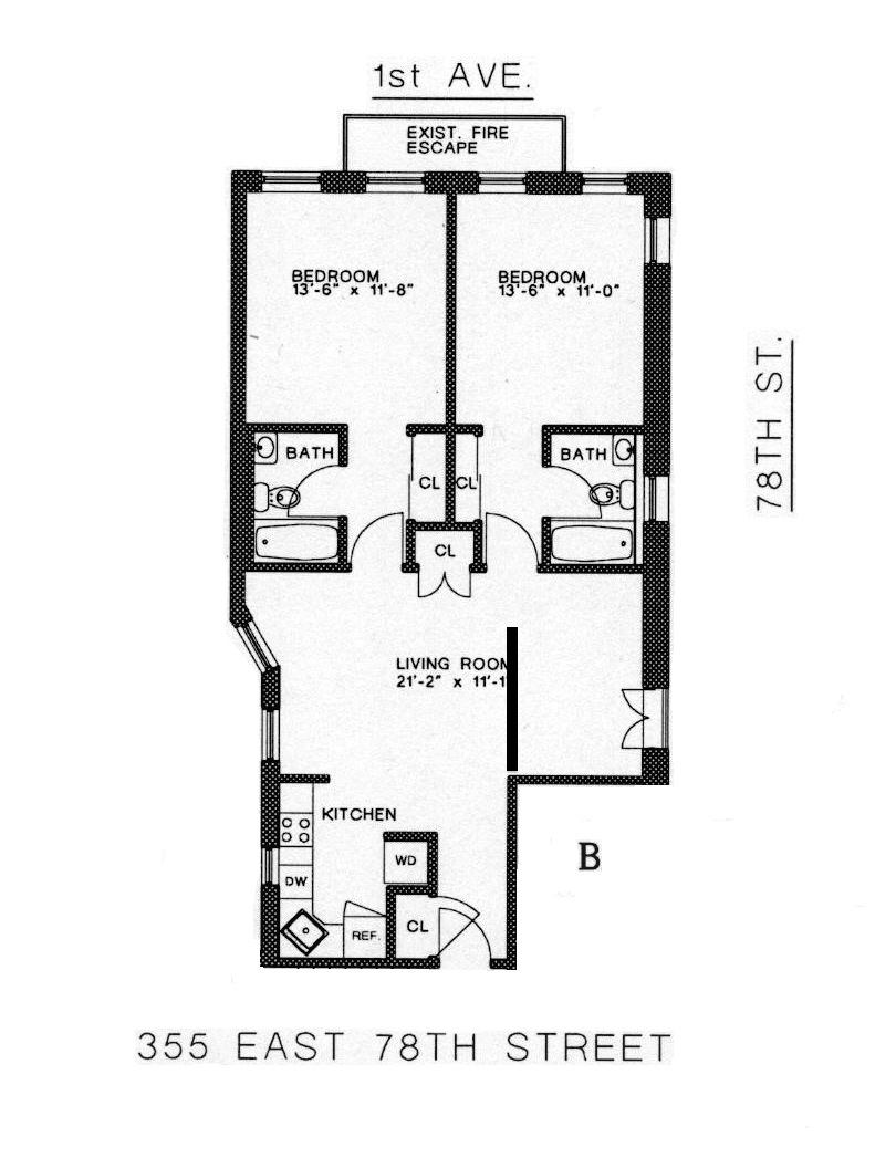 StreetEasy: 355 East 78th #1B - Rental Apartment Rental in Upper East Side, Manhattan