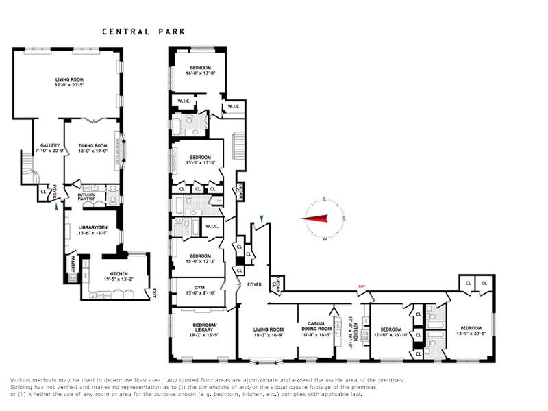 StreetEasy: 88 Central Park West #910NW - Co-op Apartment Sale at The Brentmore in Lincoln Square, Manhattan