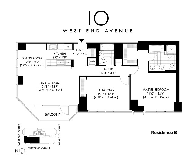 StreetEasy: 10 West End Ave. #24B - Condo Apartment Sale in Lincoln Square, Manhattan