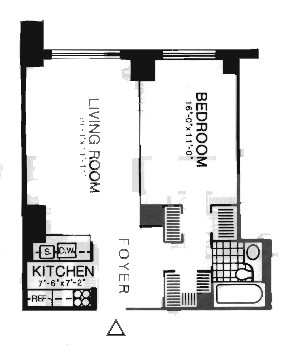 StreetEasy: 200 Rector Pl. #9D - Condo Apartment Rental at Liberty Court in Battery Park City, Manhattan