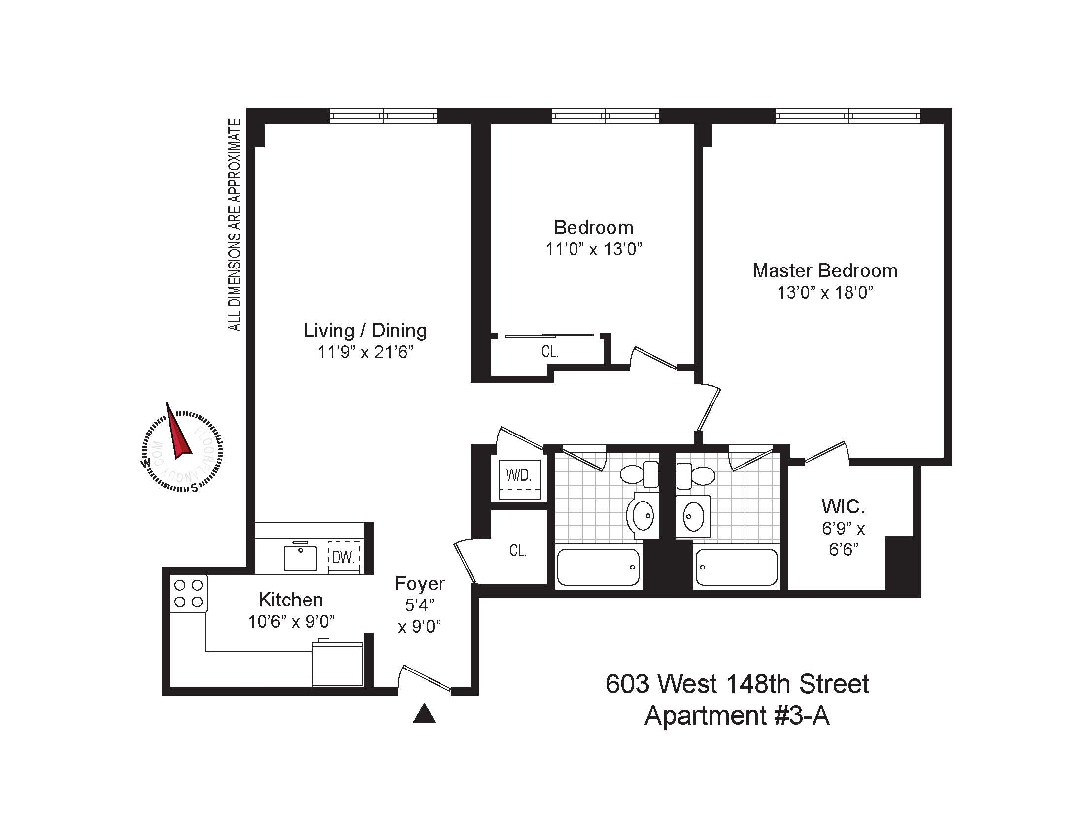 StreetEasy: 603 West 148th St. #3A - Condo Apartment Sale at RiverBridge Court in Hamilton Heights, Manhattan