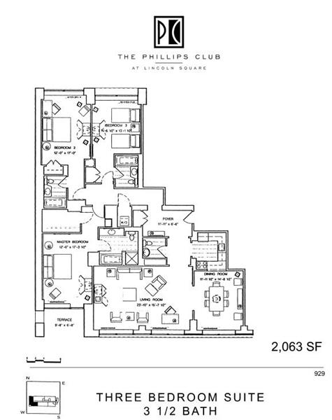The Phillips Club at 155 West 66th Street in Lincoln Square