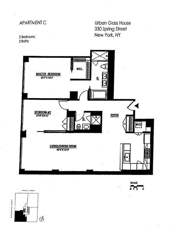 StreetEasy: 330 Spring St. #7C - Condo Apartment Sale at The Urban Glass House in Soho, Manhattan