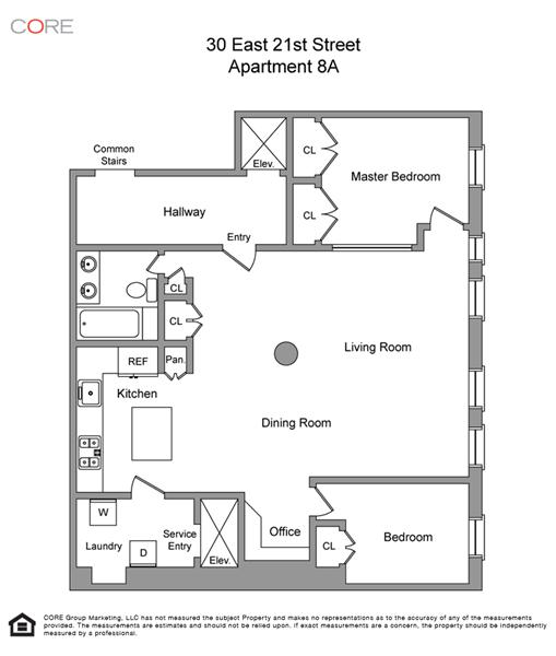 StreetEasy: 30 East 21st St. #8A - Co-op Apartment Sale in Flatiron, Manhattan