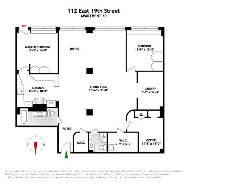 StreetEasy: 112 East 19th St. #3R - Co-op Apartment Sale in Gramercy Park, Manhattan