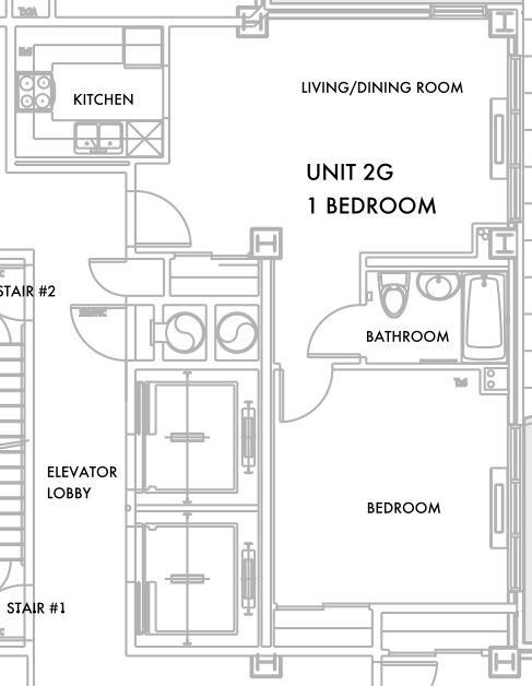 New 1-Bed Listing @ The Highline, 756 Washington - 24hr Doorman; Pets Ok; Stainless Steel Appliances! No Fee!