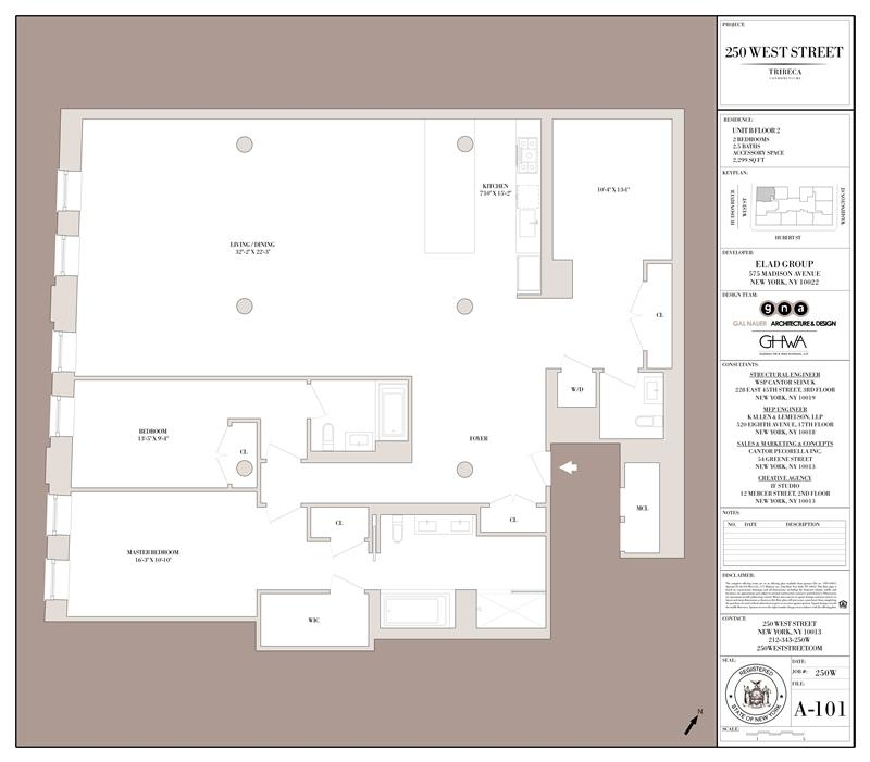 StreetEasy: 250 West St. #2B - Condo Apartment Sale in Tribeca, Manhattan