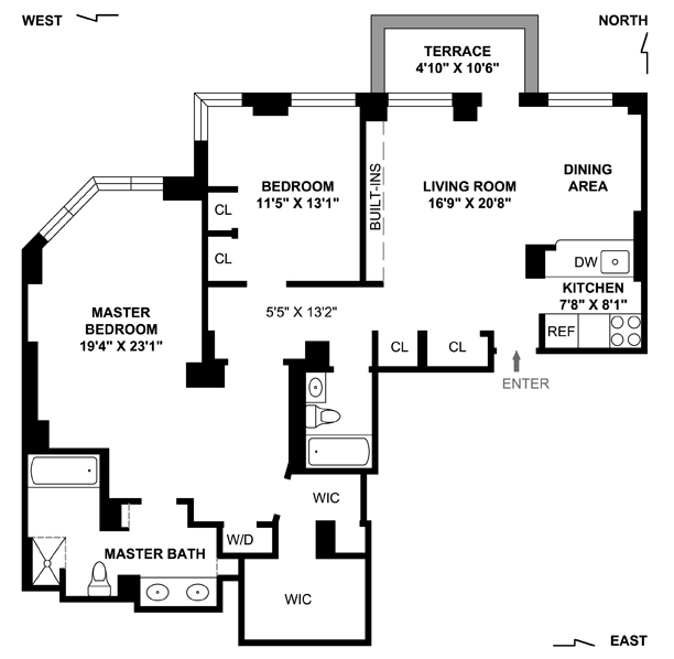 StreetEasy: 255 West 85th St. #6AB - Condo Apartment Sale at Claremont Condominium in Upper West Side, Manhattan