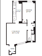 StreetEasy: 142 East 49th St. #4E - Rental Apartment Rental in Turtle Bay, Manhattan