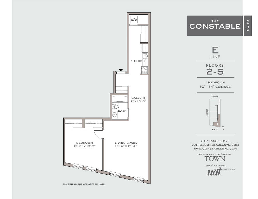 StreetEasy: 53 Howard St. #2E - Rental Apartment Rental at The Constable in Soho, Manhattan