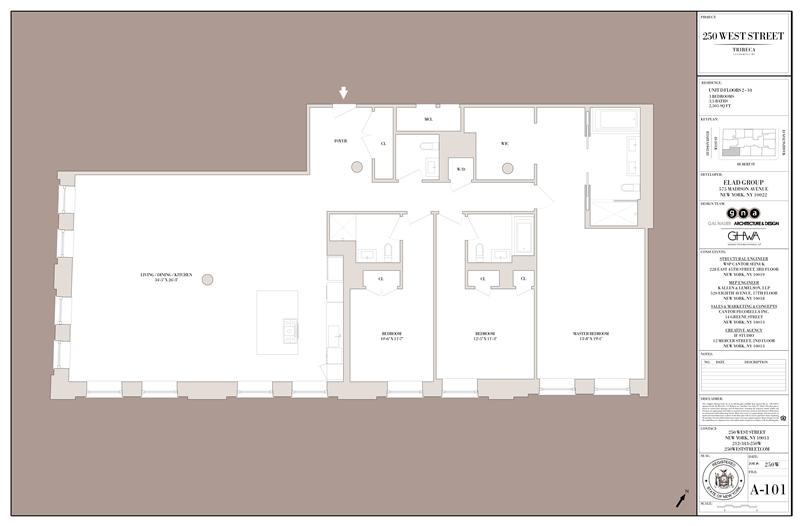 StreetEasy: 250 West St. #8D - Condo Apartment Sale in Tribeca, Manhattan