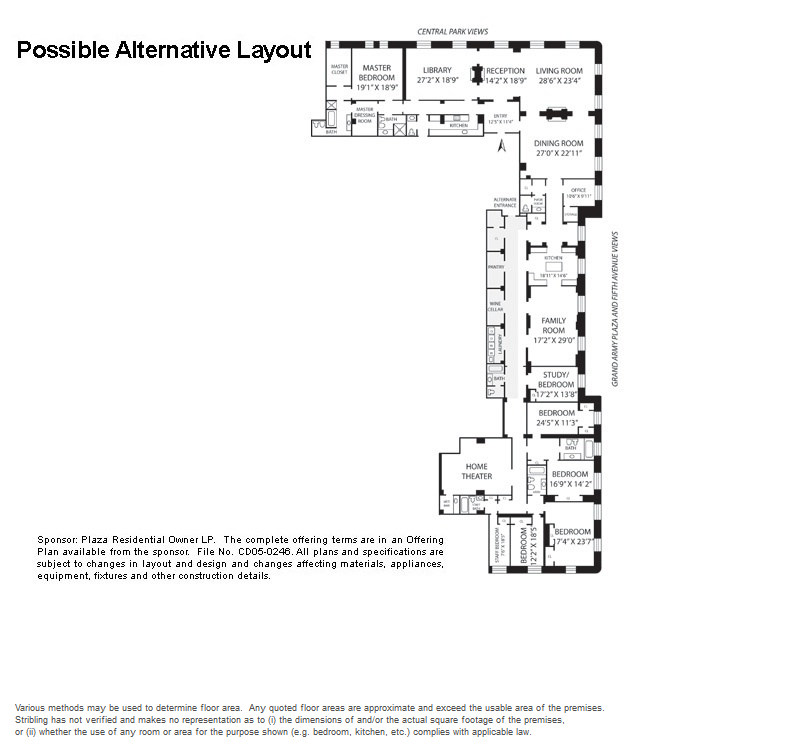 StreetEasy: 1 Central Park South #309 - Condo Apartment Sale at The Plaza in Central Park South, Manhattan