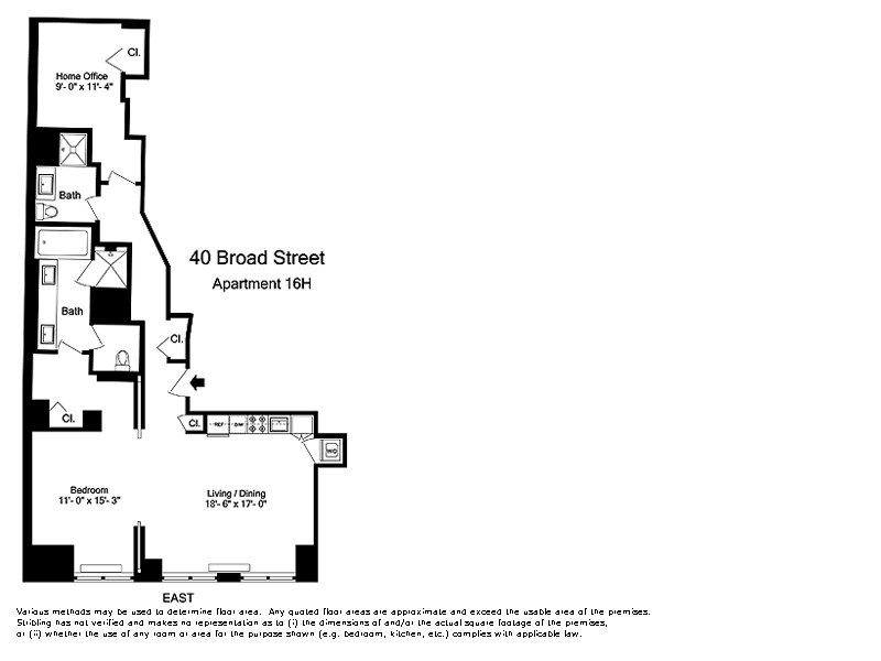 StreetEasy: 40 Broad St. #16H - Condo Apartment Rental at The Setai Wall Street in Financial District, Manhattan