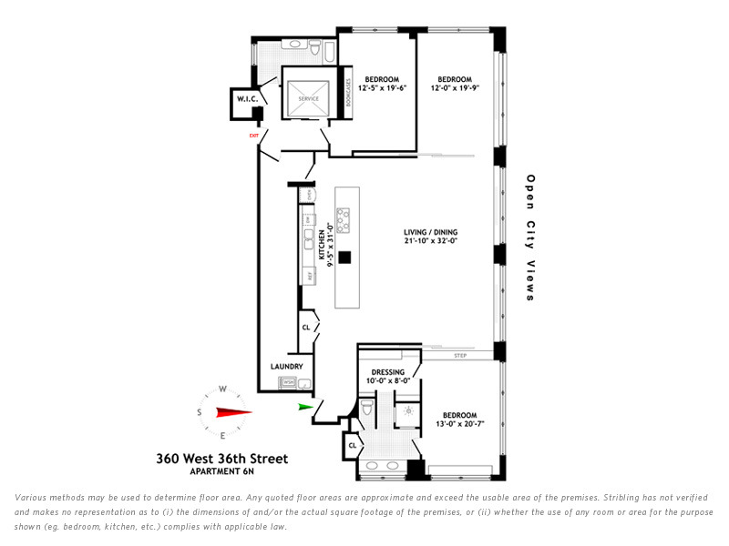 StreetEasy: 360 West 36th St. #6N - Co-op Apartment Sale in Midtown West, Manhattan